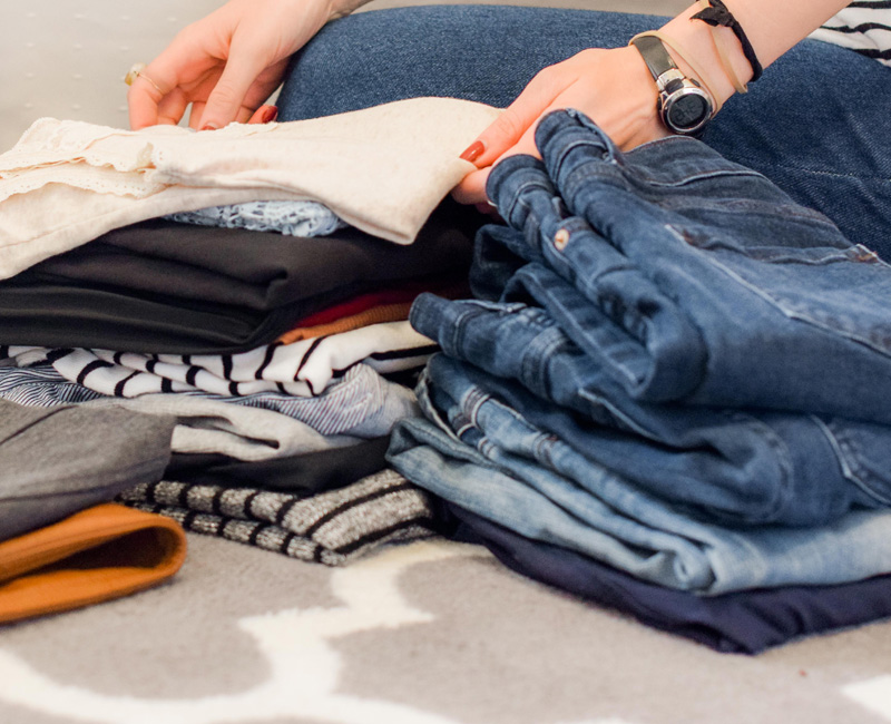 Providing clothing for those in need