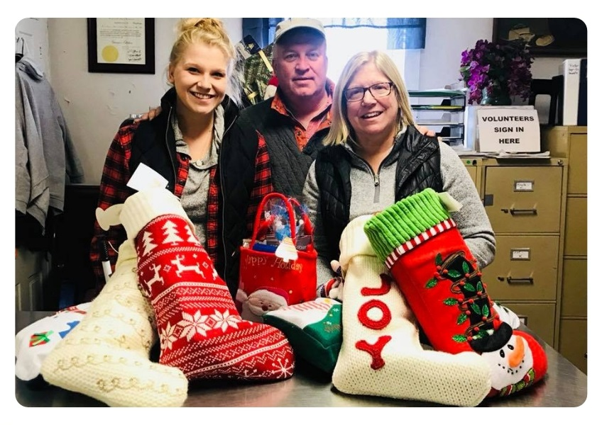 Christmas Stocking to bring a joy and happiness in Carroll County